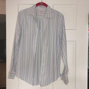 EUC Brooks Brothers dress shirt sz 4